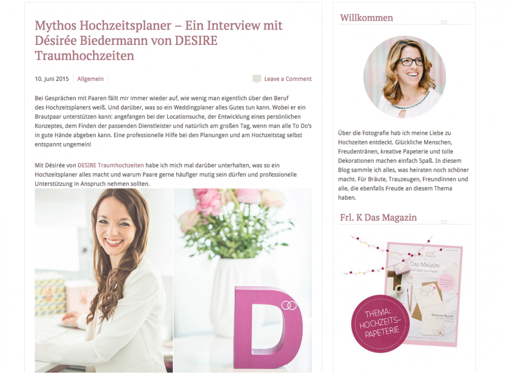 ein interview mit fr ulein k sagt ja mit desire. Black Bedroom Furniture Sets. Home Design Ideas